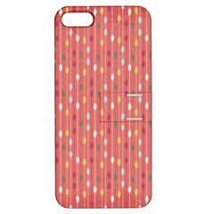 Circle Red Freepapers Paper Apple Iphone 5 Hardshell Case With Stand by Alisyart