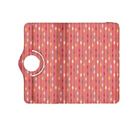 Circle Red Freepapers Paper Kindle Fire Hdx 8 9  Flip 360 Case by Alisyart