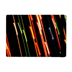 Colorful Diagonal Lights Lines Ipad Mini 2 Flip Cases by Alisyart