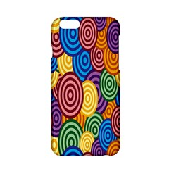 Circles Color Yellow Purple Blu Pink Orange Illusion Apple Iphone 6/6s Hardshell Case by Alisyart