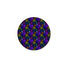 Circles Color Yellow Purple Blu Pink Orange Golf Ball Marker by Alisyart