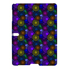 Circles Color Yellow Purple Blu Pink Orange Samsung Galaxy Tab S (10 5 ) Hardshell Case  by Alisyart