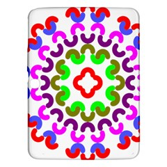 Decoration Red Blue Pink Purple Green Rainbow Samsung Galaxy Tab 3 (10 1 ) P5200 Hardshell Case  by Alisyart