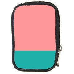 Flag Color Pink Blue Line Compact Camera Cases by Alisyart