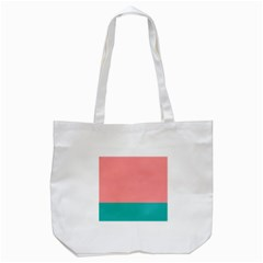 Flag Color Pink Blue Line Tote Bag (white) by Alisyart