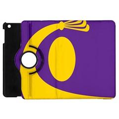Flag Purple Yellow Circle Apple Ipad Mini Flip 360 Case by Alisyart