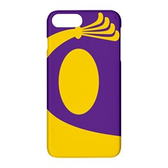 Flag Purple Yellow Circle Apple Iphone 7 Plus Hardshell Case by Alisyart