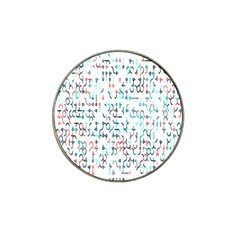 Connect Dots Color Rainbow Blue Red Circle Line Hat Clip Ball Marker (10 Pack) by Alisyart