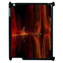 The Burning Of A Bridge Apple iPad 2 Case (Black)