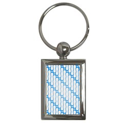 Batik Pattern Key Chains (rectangle)  by Simbadda