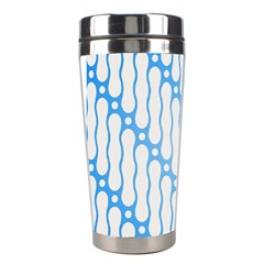 Batik Pattern Stainless Steel Travel Tumblers by Simbadda