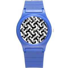Birds Flock Together Round Plastic Sport Watch (s) by Simbadda