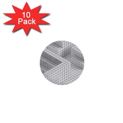 Design Grafis Pattern 1  Mini Buttons (10 Pack)  by Simbadda