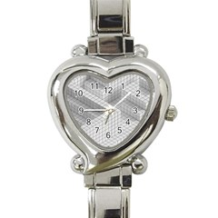 Design Grafis Pattern Heart Italian Charm Watch by Simbadda