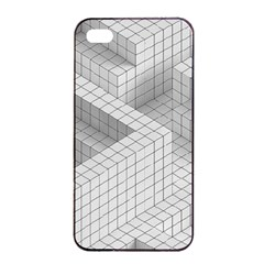 Design Grafis Pattern Apple Iphone 4/4s Seamless Case (black) by Simbadda