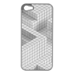 Design Grafis Pattern Apple Iphone 5 Case (silver) by Simbadda