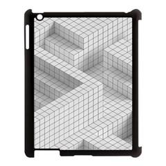 Design Grafis Pattern Apple Ipad 3/4 Case (black) by Simbadda