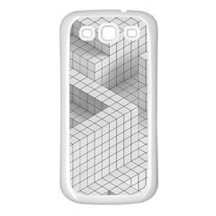 Design Grafis Pattern Samsung Galaxy S3 Back Case (white) by Simbadda