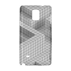 Design Grafis Pattern Samsung Galaxy Note 4 Hardshell Case by Simbadda