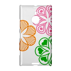 Flower Floral Love Valentine Star Pink Orange Green Nokia Lumia 1520 by Alisyart