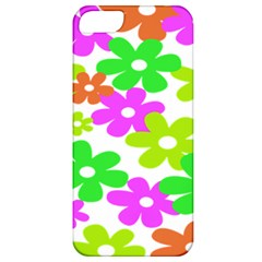 Flowers Floral Sunflower Rainbow Color Pink Orange Green Yellow Apple iPhone 5 Classic Hardshell Case