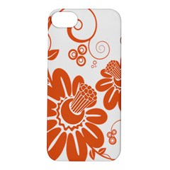 Floral Rose Orange Flower Apple Iphone 5s/ Se Hardshell Case by Alisyart