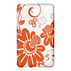 Floral Rose Orange Flower Samsung Galaxy Tab 4 (8 ) Hardshell Case  by Alisyart