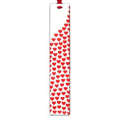 Heart Love Valentines Day Red Sign Large Book Marks by Alisyart