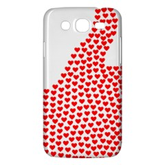 Heart Love Valentines Day Red Sign Samsung Galaxy Mega 5 8 I9152 Hardshell Case  by Alisyart