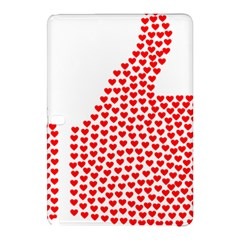 Heart Love Valentines Day Red Sign Samsung Galaxy Tab Pro 12 2 Hardshell Case by Alisyart
