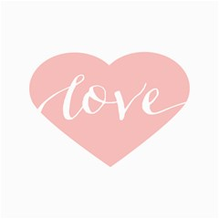 Love Valentines Heart Pink Canvas 16  X 20   by Alisyart