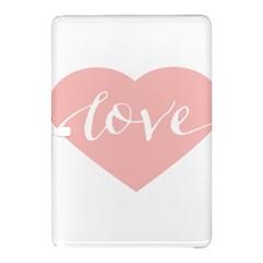 Love Valentines Heart Pink Samsung Galaxy Tab Pro 12 2 Hardshell Case by Alisyart