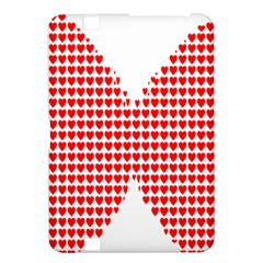 Hearts Butterfly Red Valentine Love Kindle Fire Hd 8 9  by Alisyart