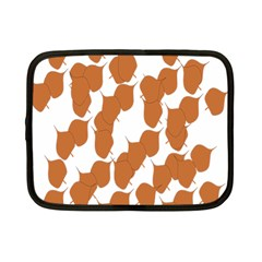 Machovka Autumn Leaves Brown Netbook Case (small)  by Alisyart