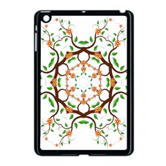 Floral Tree Leaf Flower Star Apple Ipad Mini Case (black) by Alisyart