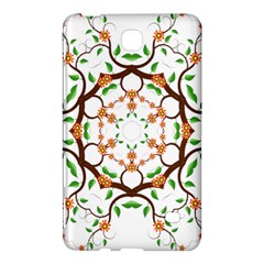 Floral Tree Leaf Flower Star Samsung Galaxy Tab 4 (7 ) Hardshell Case  by Alisyart