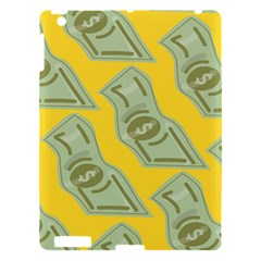 Money Dollar $ Sign Green Yellow Apple Ipad 3/4 Hardshell Case by Alisyart