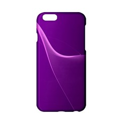 Purple Line Apple Iphone 6/6s Hardshell Case by Alisyart