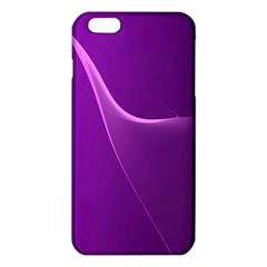Purple Line Iphone 6 Plus/6s Plus Tpu Case by Alisyart