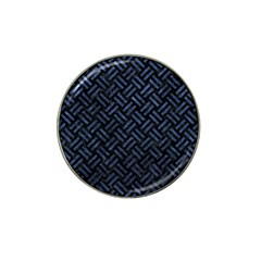 Woven2 Black Marble & Blue Stone Hat Clip Ball Marker (4 Pack) by trendistuff