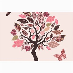 Tree Butterfly Insect Leaf Pink Canvas 20  X 30   by Alisyart