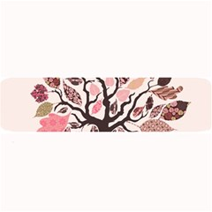 Tree Butterfly Insect Leaf Pink Large Bar Mats by Alisyart