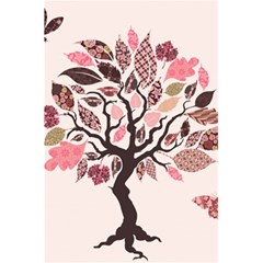 Tree Butterfly Insect Leaf Pink 5 5  X 8 5  Notebooks by Alisyart