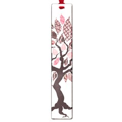 Tree Butterfly Insect Leaf Pink Large Book Marks by Alisyart