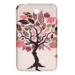 Tree Butterfly Insect Leaf Pink Samsung Galaxy Tab 3 (7 ) P3200 Hardshell Case  by Alisyart