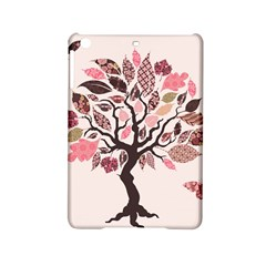 Tree Butterfly Insect Leaf Pink Ipad Mini 2 Hardshell Cases by Alisyart