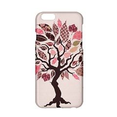 Tree Butterfly Insect Leaf Pink Apple Iphone 6/6s Hardshell Case by Alisyart
