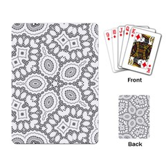 Scope Random Black White Playing Card by Alisyart