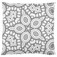Scope Random Black White Large Cushion Case (two Sides) by Alisyart