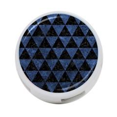 Triangle3 Black Marble & Blue Stone 4 Port Usb Hub (one Side) by trendistuff